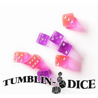 Tumblin-Dice- Dice Set (4 Pink, 4Purple)