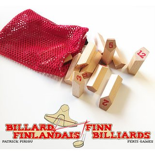 Finn Billiards: 12x Pins