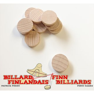 Finn Billiards: 10x Discs