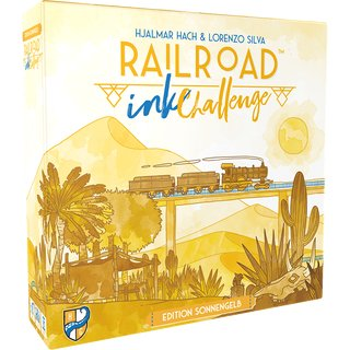 Railroad Ink Challenge: Edition Sonnengelb